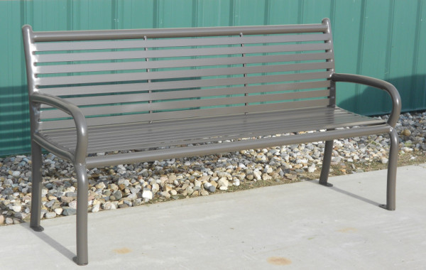 The River Rock Bench