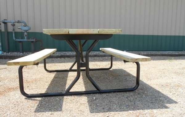 The Tuff-Go Bronze Picnic Table