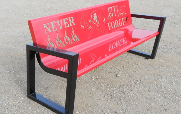 The Square Side Bench (Customizable)
