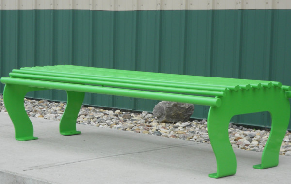 Pebble Beach Backless Bench