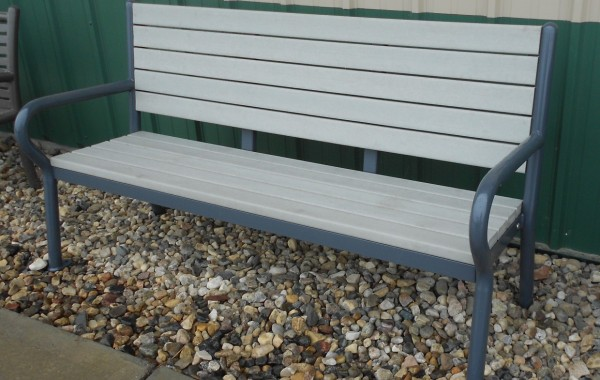 The Flare Side Backed Bench