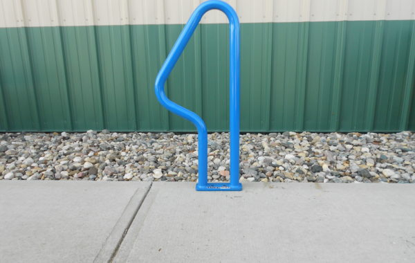 The Triangle Bollard Bike Rack