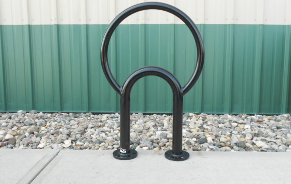 The Moon Bollard Bike Rack