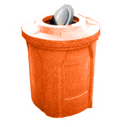 42 Gallon Bug Barrier Plastic Trash Can