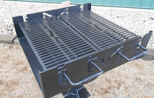 Double Grate Grill
