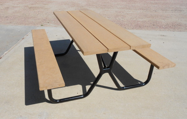 The Silver Series Picnic Table