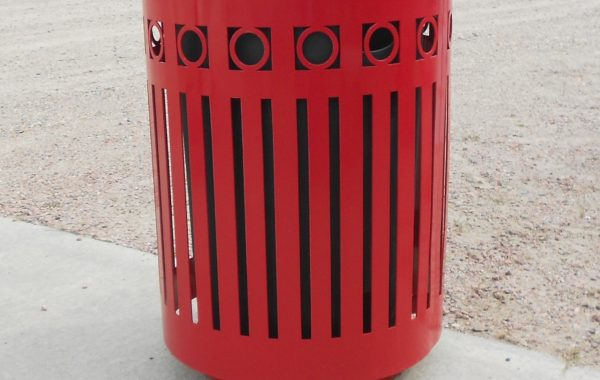 32 Gallon Deco Trash Can (Customizable)