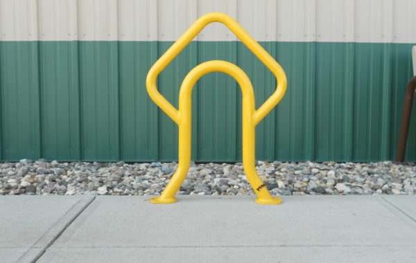 The Arrow Bollard Bike Rack