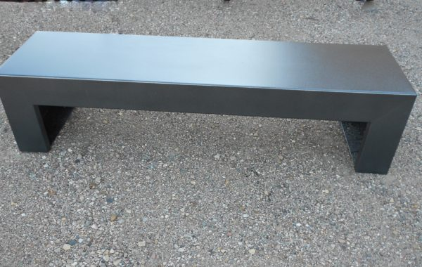 Backless Formed Bench (customizable)