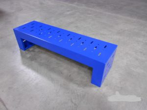 Backless Formed Bench (customized)